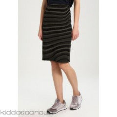Anna Field Pencil skirt - gold/black - Womens Pencil Skirts AN621B03Z-F11
