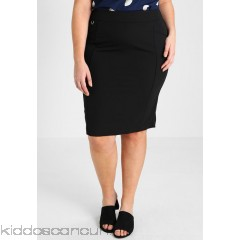 Simply Be NEW PENCIL SKIRT - Pencil skirt - black - Womens Pencil Skirts SIE21B001-Q11
