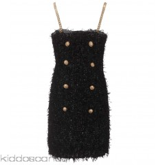 Balmain Embellished tweed minidress - Womens Mini Dress P00289793