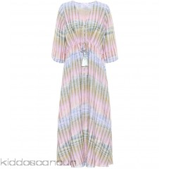 Athena Procopiou Cosmic Dancer cotton-blend dress - Womens Maxi Dresses P00315590