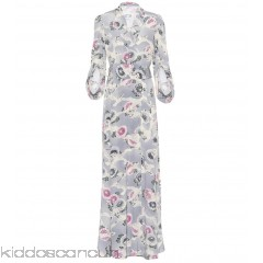 Co Floral-printed silk dress - Womens Maxi Dresses P00299380