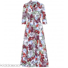 Erdem Kasia floral-printed cotton dress - Womens Maxi Dresses P00288490