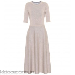 Gabriela Hearst Enid reversible wool and cashmere dress - Womens Maxi Dresses P00303786