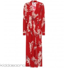 McQ Alexander McQueen Japanese Floral printed dress - Womens Maxi Dresses P00307143