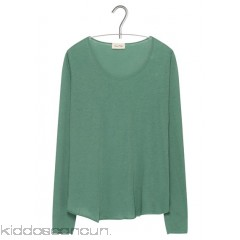 AMERICAN VINTAGE - Women - Long-sleeved round-neck cotton T-shirt ZAQWqfB7