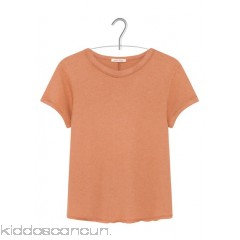 AMERICAN VINTAGE - Women - Round-neck cotton and linen T-shirt 9tRAxgtf