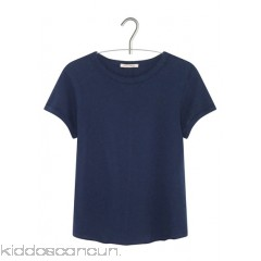 AMERICAN VINTAGE - Women - Round-neck cotton and linen T-shirt piXQ6rDc