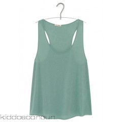 AMERICAN VINTAGE - Women - Round-neck sleeveless cotton top kfcwQc0V