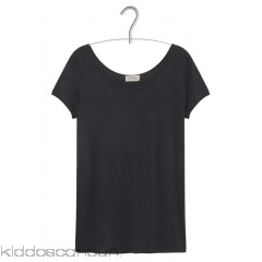 AMERICAN VINTAGE - Women - Slash-neck cotton blend T-shirt E6wF48mA