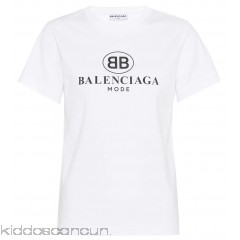 Balenciaga Printed cotton T-shirt - Womens T-Shirts P00295883
