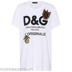 Dolce & Gabbana Printed cotton-blend T-shirt - Womens T-Shirts P00275307