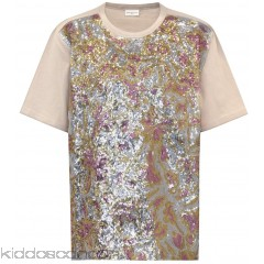 Dries Van Noten Embellished cotton T-shirt - Womens T-Shirts P00314438
