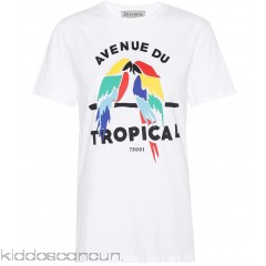 Être Cécile Tropical cotton T-shirt - Womens T-Shirts P00304838