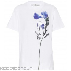 Golden Goose Deluxe Brand Floral-printed cotton T-shirt - Womens T-Shirts P00294310