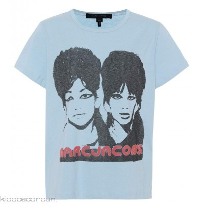 Marc Jacobs Printed cotton T-shirt - Womens T-Shirts P00297918