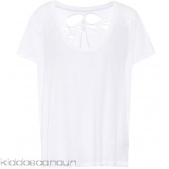 Unravel Distressed cotton T-shirt - Womens T-Shirts P00305560