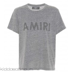 Amiri Printed cotton-blend T-shirt - Womens Short Sleeved T-Shirts P00289290
