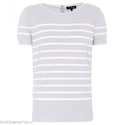 Loro Piana Bretagne striped cashmere sweater - Womens Short Sleeved T-Shirts P00306267