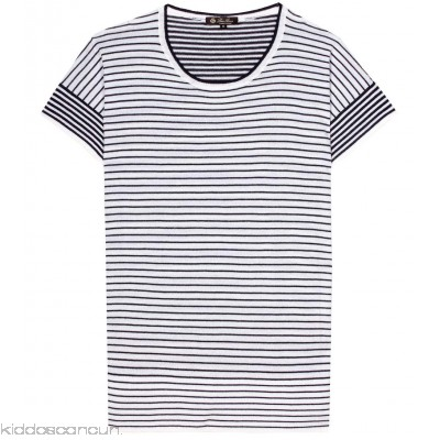 Loro Piana Striped cashmere top - Womens Short Sleeved T-Shirts P00220347