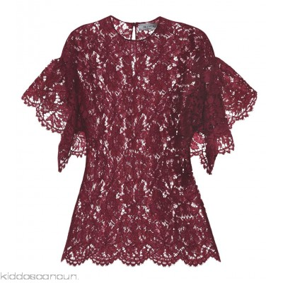 Valentino Lace top - Womens Short Sleeved T-Shirts P00303931
