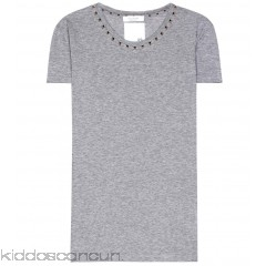 Valentino Rockstud Untitled cotton T-shirt - Womens Short Sleeved T-Shirts P00272060