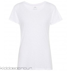 Velvet Courtney cotton-blend T-shirt - Womens Short Sleeved T-Shirts P00293281