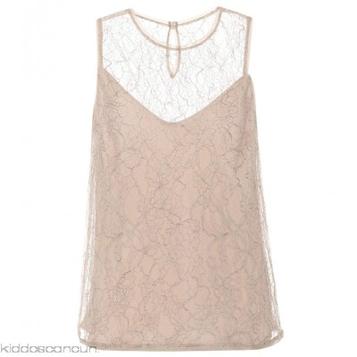 Max Mara Chantilly lace top - Womens Sleeveless P00297660