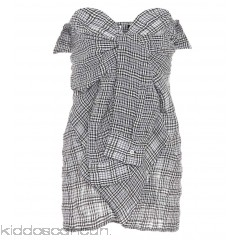 Unravel Plaid cotton and linen blouse - Womens Sleeveless P00305563