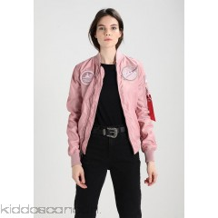 Alpha Industries NASA REVERSIBLE  - Bomber Jacket - silver pink - Womens Lightweight Jackets AL521U000-J11