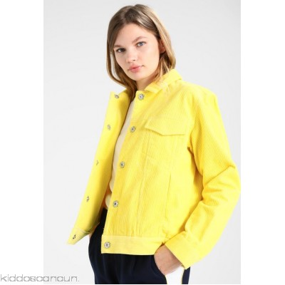 Envii ENSCONE JACKET - Summer jacket - yellow cream - Womens Lightweight Jackets EI421G005-E11