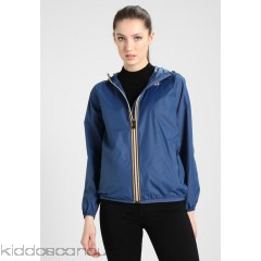 K-Way LE VRAI CLAUDETTE - Waterproof jacket - blue deep - Womens Lightweight Jackets KW121G00W-K15
