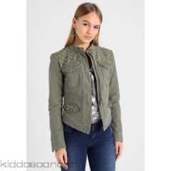 Only Petite ONLAUSTIN STUD AND STONES JACKET - Summer jacket - grape leaf - Womens Lightweight Jackets OP421G00U-M11