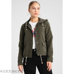 Only Petite ONLNEW SKYLAR - Summer jacket - black olive - Womens Lightweight Jackets OP421U00H-Q11