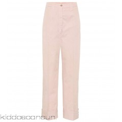 Acne Studios Madya cotton chino trousers - Womens Wide-leg Trousers P00307476