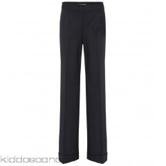 Dolce & Gabbana Wide-legged wool-blend trousers - Womens Wide-leg Trousers P00275759