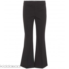 Isabel Marant Lyre flared cotton-blend trousers - Womens Wide-leg Trousers P00293977