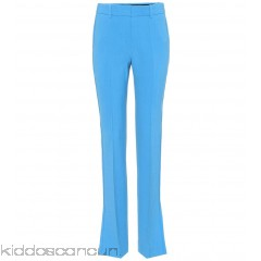 Victoria Victoria Beckham Wool-blend trousers - Womens Wide-leg Trousers P00304888