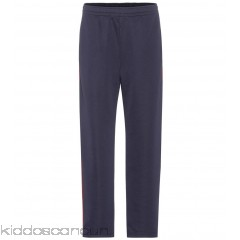 Acne Studios Norwich Face cotton-blend trousers - Womens Straight Trousers P00273467
