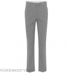 Etro Jacquard cotton trousers - Womens Straight Trousers P00297375