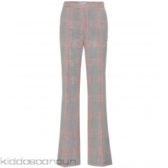 Gabriela Hearst Vesta plaid wool trousers - Womens Straight Trousers P00303782