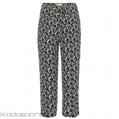 Marni Printed cropped trousers - Womens Straight Trousers P00305335