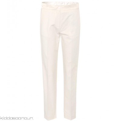 Moncler Cotton cropped trousers - Womens Straight Trousers P00312546