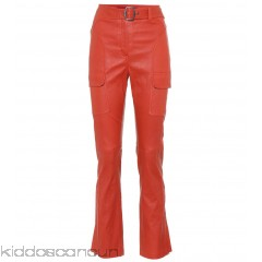 Sies Marjan Leather trousers - Womens Straight Trousers P00303744