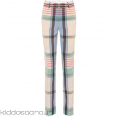 <b>Notice</b>: Undefined index: alt_image in <b>/home/kiddoscancun/public_html/vqmod/vqcache/vq2-catalog_view_theme_cerah_template_product_category.tpl</b> on line <b>73</b>Victoria Beckham Plaid cotton trousers - Womens Straight Trousers P00303868