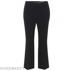 Alexander McQueen Cropped cady trousers - Womens Cropped Trousers P00317026