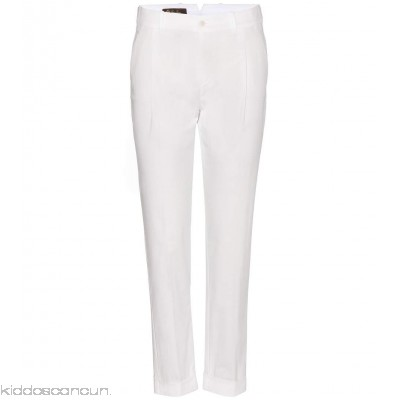 Loro Piana Marcus cotton trousers - Womens Cropped Trousers P00117494