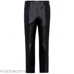 Prada Wool and silk trousers - Womens Cropped Trousers P00275580