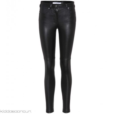 Givenchy Leather skinny trousers - Womens Skinny Trousers P00262521