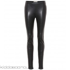 Saint Laurent Leather trousers - Womens Skinny Trousers P00300441