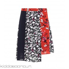 Acne Studios Hamni floral-printed skirt - Womens Mini Skirts P00307507